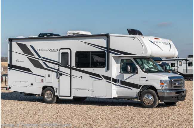 2021 Coachmen Freelander  26DS W/ Recliners, Dual A/Cs, Exterior Entertainment