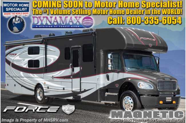 2021 Dynamax Corp Force HD 37TS W/ Theater Seats, Chrome Pkg, Solar, TPMS, Mobileye