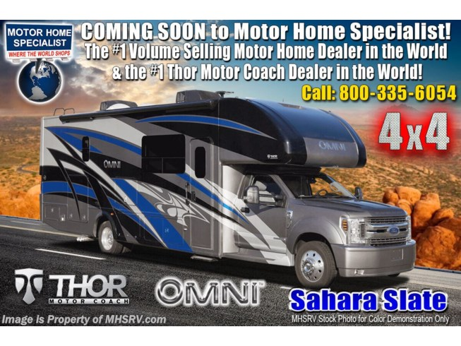 New 2021 Thor Motor Coach Omni XG32 available in Alvarado, Texas
