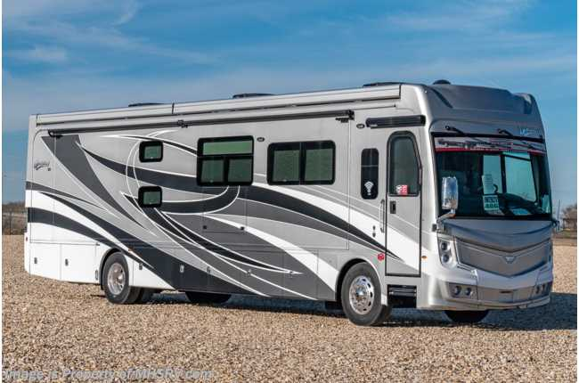 2021 Fleetwood Discovery LXE 40G Bunk Model W/ Theater Seats, OH Loft, King, Technology Package , 2nd Roof Awning
