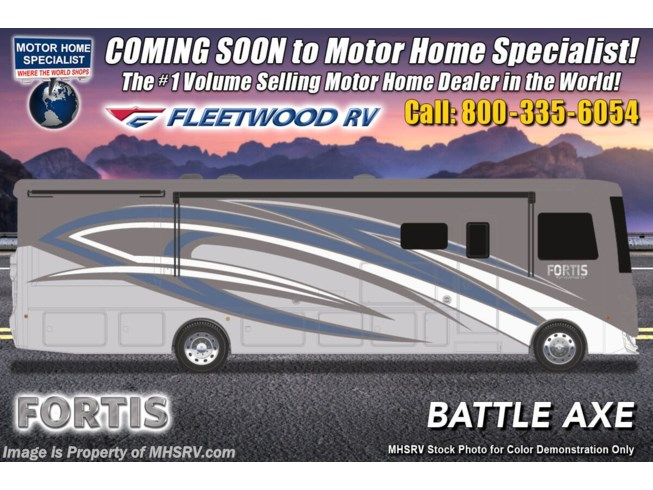 New 2021 Fleetwood Fortis 33HB available in Alvarado, Texas