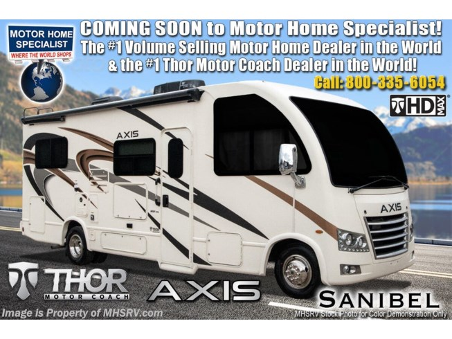 New 2021 Thor Motor Coach Axis 24.1 available in Alvarado, Texas