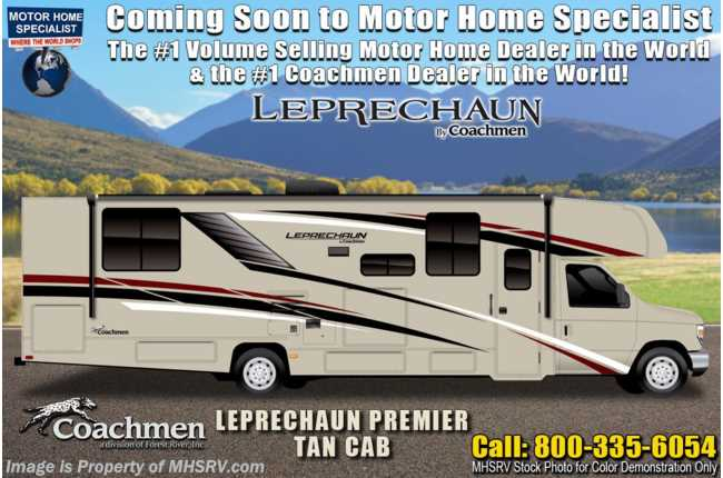 2021 Coachmen Leprechaun 311FS W/ Combo W/D, Jacks, Dual A/Cs, Swivel Seats & CRV Comfort Pkg