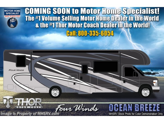 New 2021 Thor Motor Coach Four Winds 31B available in Alvarado, Texas