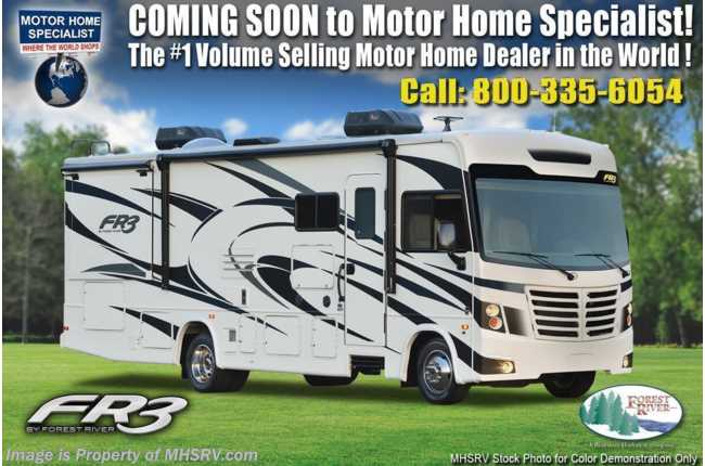2021 Forest River FR3 32DS Bunk Model RV W/ OH Loft, & King, WiFi/Solar Pkg