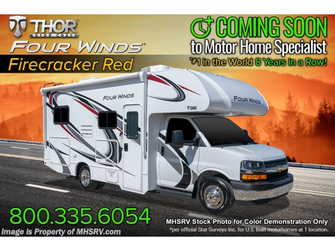 New 2022 Thor Motor Coach Four Winds 22E available in Alvarado, Texas