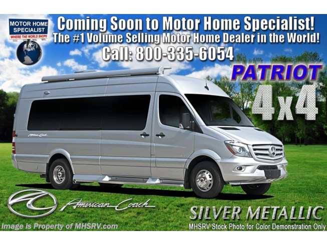 New 2021 American Coach Patriot MD4 available in Alvarado, Texas