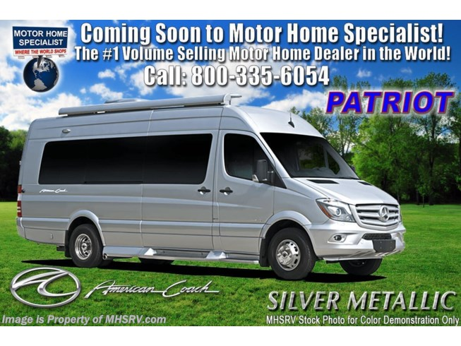 New 2021 American Coach Patriot Cruiser S5 available in Alvarado, Texas