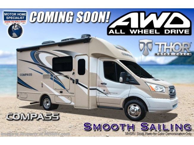 New 2021 Thor Motor Coach Compass 23TW available in Alvarado, Texas