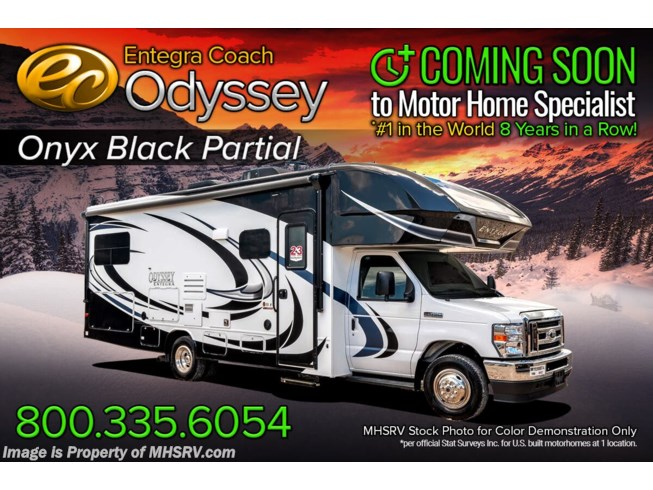 New 2021 Entegra Coach Odyssey 26D available in Alvarado, Texas