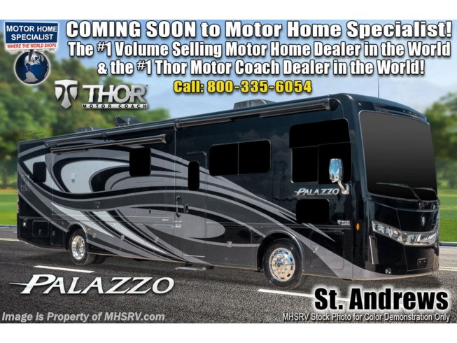New 2021 Thor Motor Coach Palazzo 37.4 available in Alvarado, Texas