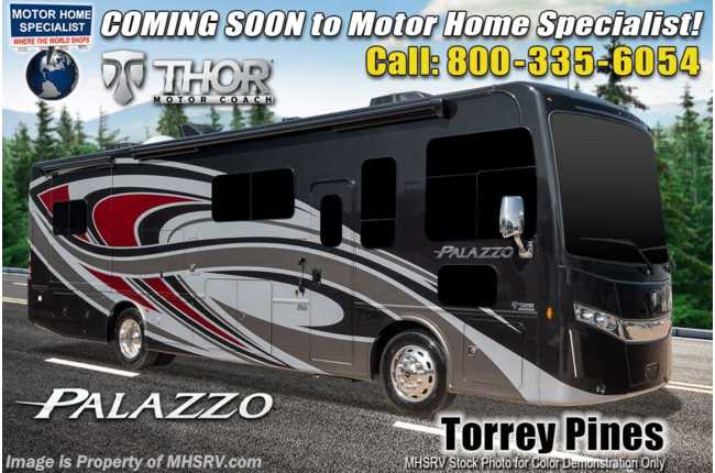 2021 Thor Motor Coach Palazzo 37.5 Bath & 1/2 340HP & Studio Collection