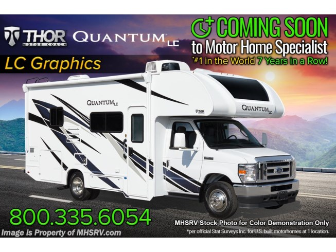 New 2022 Thor Motor Coach Quantum LC25 available in Alvarado, Texas