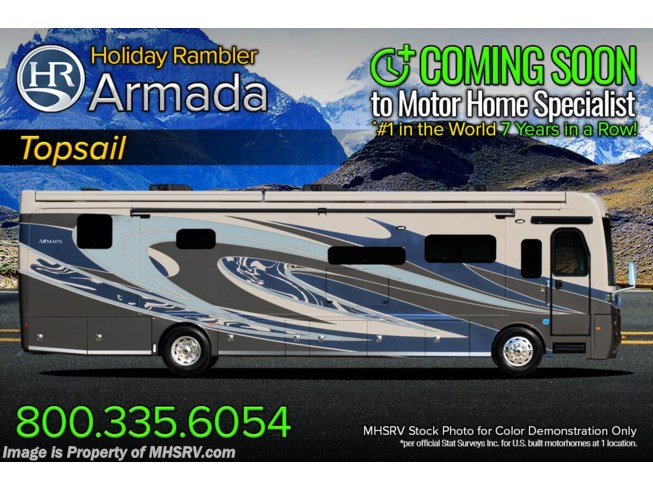 New 2021 Holiday Rambler Armada 44B available in Alvarado, Texas