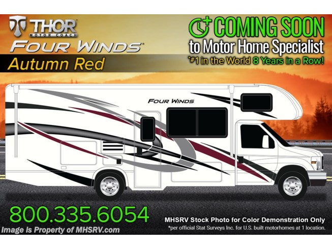 New 2022 Thor Motor Coach Four Winds 24F available in Alvarado, Texas
