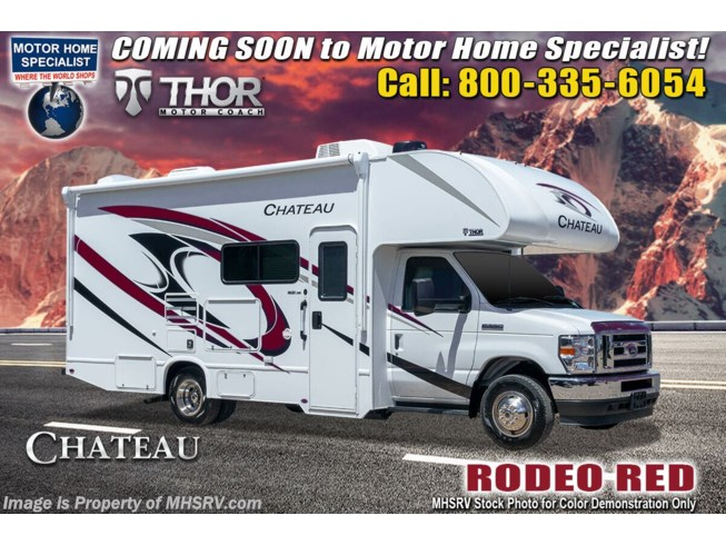 New 2022 Thor Motor Coach Chateau 24F available in Alvarado, Texas