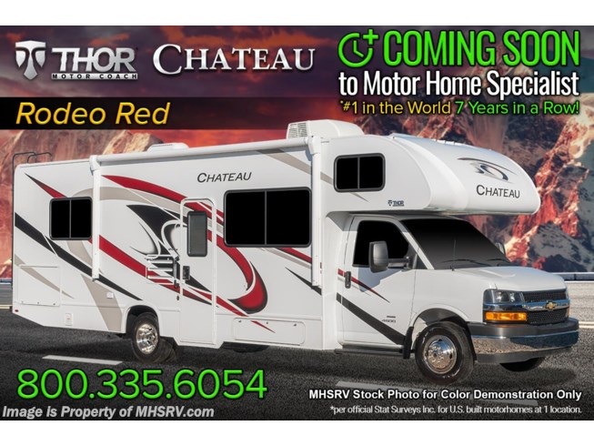 New 2022 Thor Motor Coach Chateau 31EV available in Alvarado, Texas