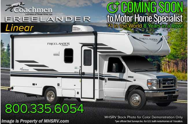 2021 Coachmen Freelander  21RS W/ Back-Up Camera, Adventure Pkg, Running Boards & Awning
