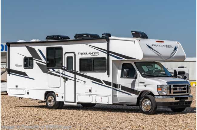 2021 Coachmen Freelander  29KB W/ Dual Recliners, King Bed, CRV Pkg, 2 A/Cs, Ext. TV & Jacks