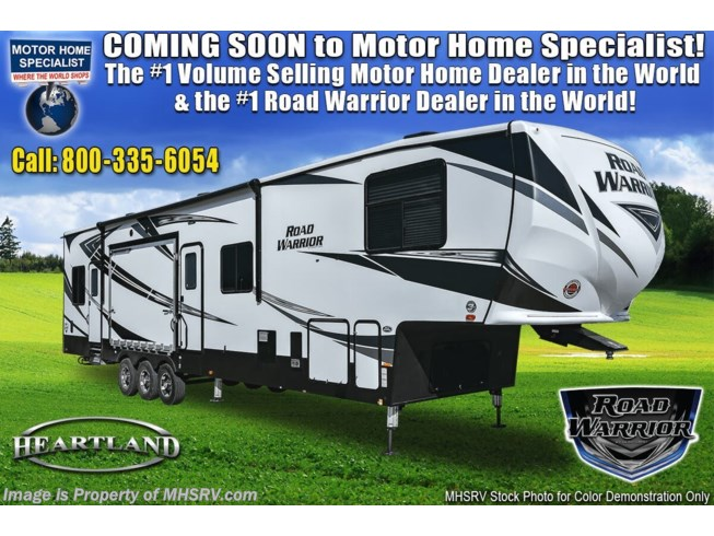 New 2021 Heartland Road Warrior 3965RW available in Alvarado, Texas