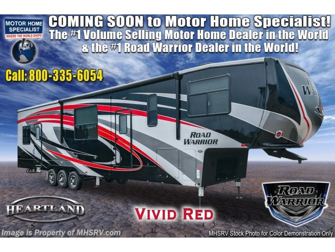 New 2021 Heartland Road Warrior 391RW available in Alvarado, Texas