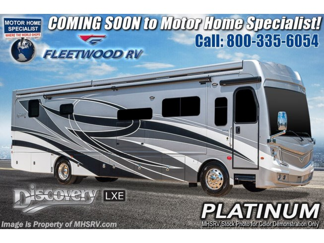 New 2021 Fleetwood Discovery LXE 44S available in Alvarado, Texas