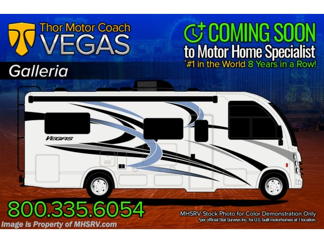 New 2021 Thor Motor Coach Vegas 27.7 available in Alvarado, Texas