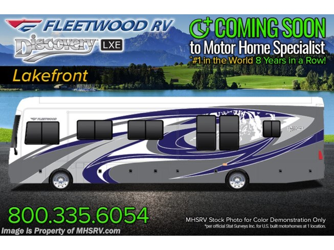 New 2022 Fleetwood Discovery LXE 44H available in Alvarado, Texas