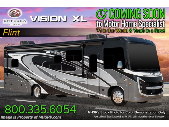 New 2022 Entegra Coach Vision XL 34G available in Alvarado, Texas