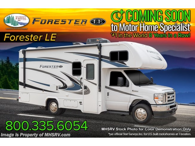 New 2022 Forest River Forester LE 2251S available in Alvarado, Texas