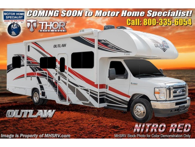 New 2022 Thor Motor Coach Outlaw 29J available in Alvarado, Texas