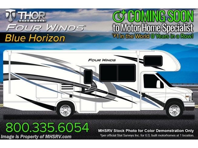 New 2022 Thor Motor Coach Four Winds 22B available in Alvarado, Texas