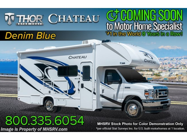 New 2022 Thor Motor Coach Chateau 25M available in Alvarado, Texas
