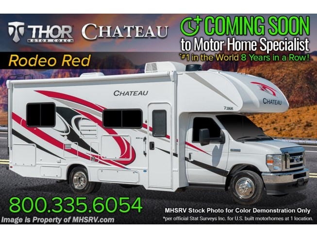 New 2022 Thor Motor Coach Chateau 25V available in Alvarado, Texas