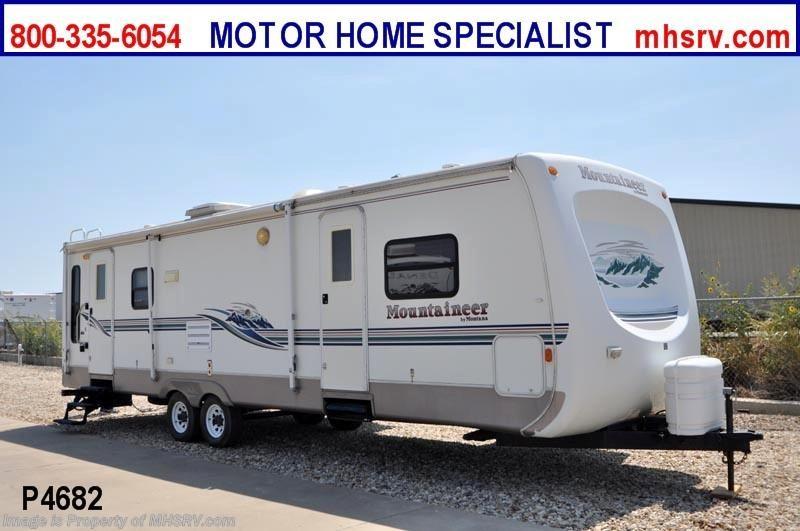 2002 keystone rv mountaineer w 2 slides 335rlbs used rv for Motor home specialist inc alvarado texas