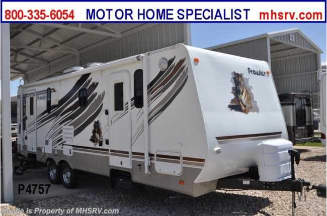 Used 2008 Fleetwood Prowler Fleetwood Trailer on towlite trailers, newmar trailers, trail lite trailers, dutchmen trailers, everlite trailers, hy-line trailers, hornet trailers, prime time trailers, sunset trail trailers, ultra lite trailers, r vision trailers, sidekick trailers, ultra light trailers, shadow cruiser trailers, forest river trailers, pilgrim trailers, kz trailers, knaus trailers, v-cross trailers, ultra hauler trailers,