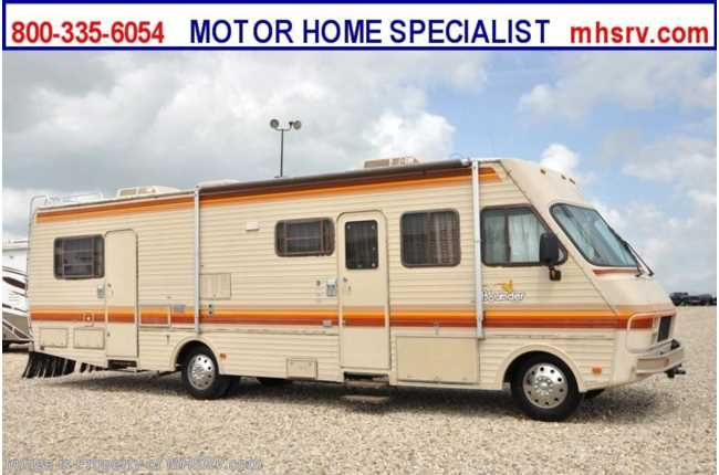 Used 1987 Fleetwood Bounder 34S RV For Sale