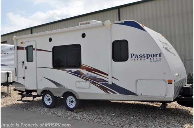 Used Motorhomes For Sale Texas >> Used 2010 Keystone Passport Ultra Lite (195RB) Used RV For Sale