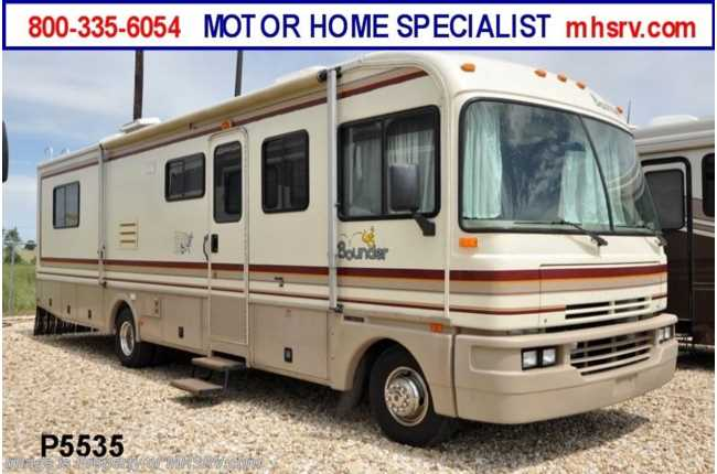 Used Motorhomes For Sale Texas >> Used 1995 Fleetwood Bounder (324) Used RV For Sale