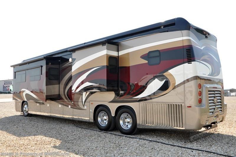 2013 Entegra Coach RV Cornerstone Bath & 1/2 Luxury ...