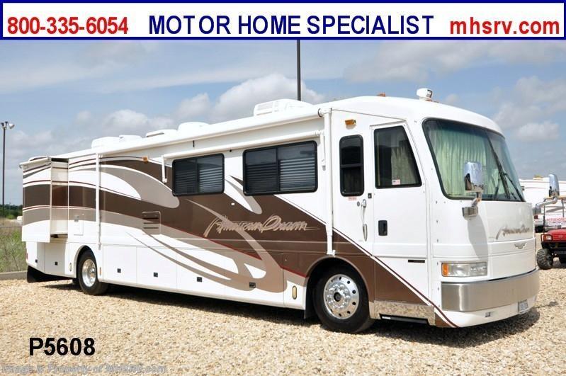 2000 american coach rv american dream w 2 slides used rv for Motor home specialist inc alvarado texas