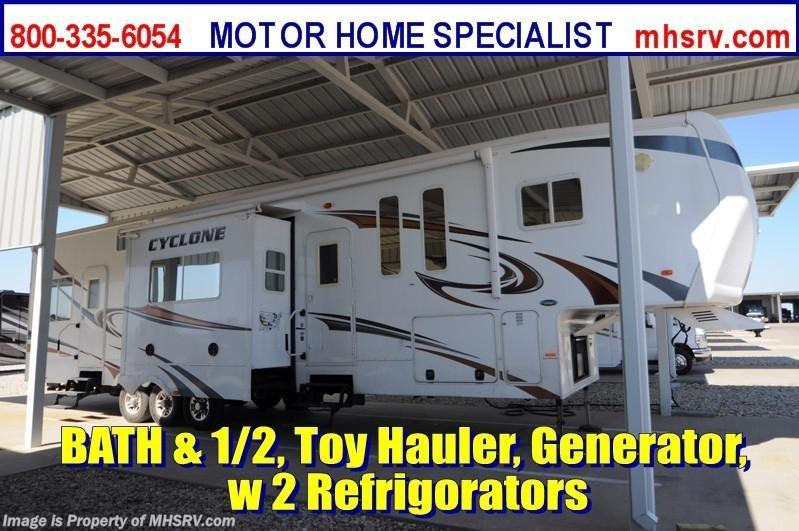 2017 Heartland Rv Cyclone 3950 Bath 1 2 Toy Hauler W 3 Slides For