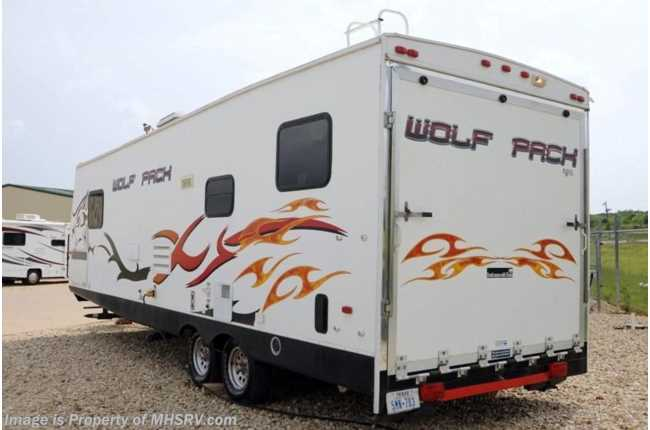 Used 2008 Forest River Cherokee Wolf Pack 27dfwp Toy