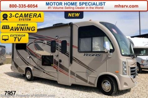 7957 2014 Thor Motor Coach Vegas 24 1 W Slide 3 Tvs