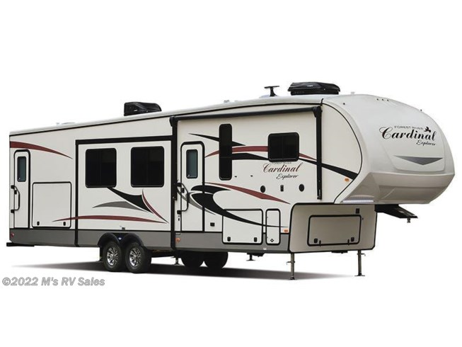 Stock Image for 2018 Forest River Cardinal Explorer 322DS (options and colors may vary)