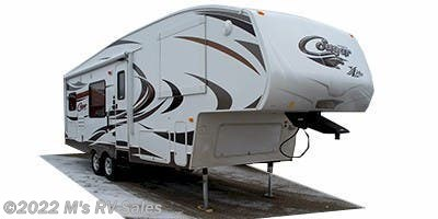 Stock Image for 2011 Keystone Cougar XLite 26SAB (options and colors may vary)