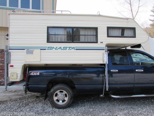 1988 Shasta Shasta - Used Truck Camper For Sale by M's RV Sales in Berlin, Vermont