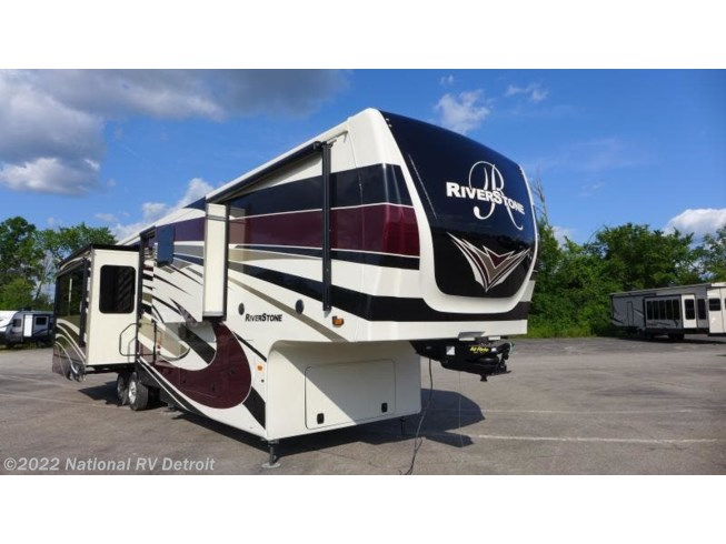 New 2020 Forest River RiverStone 39RKFB available in Belleville, Michigan