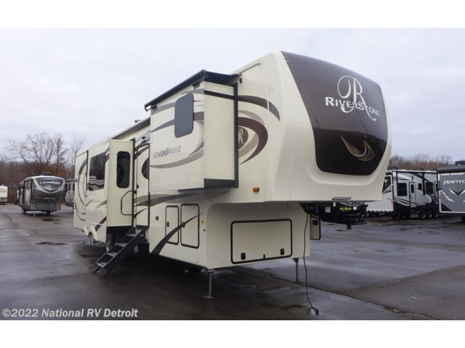 New 2020 Forest River RiverStone 39FK available in Belleville, Michigan