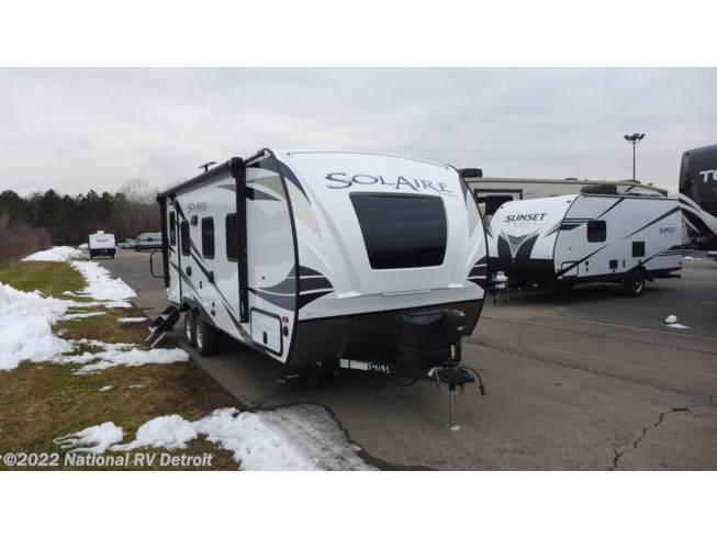 New 2020 Forest River Solaire Ultra Lite 205 SS available in Belleville, Michigan
